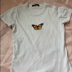 Brandy Melville Butterfly Tes